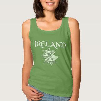 Irland Celtic fnurramönster Linne
