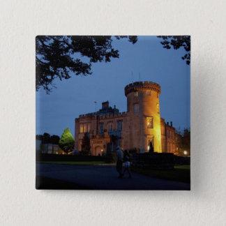 Irland det Dromoland slottet tände på skymningen, Standard Kanpp Fyrkantig 5.1 Cm