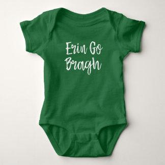 Irland Erin går den Bragh babyen T Shirts