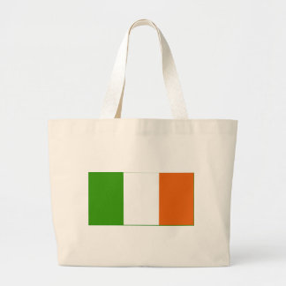 Irland flagga tote bags