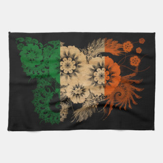 Irland flagga kökshandduk