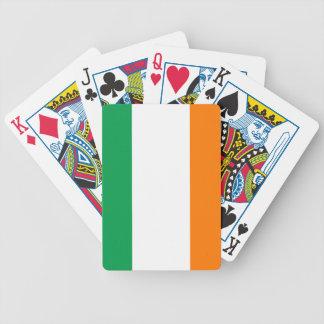 Irland-Flagga Spelkort