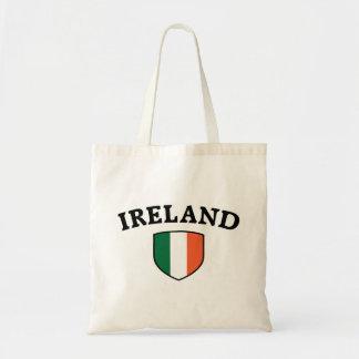 Irland flagga tygkassar