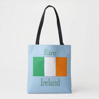 Irland flagga tygkasse