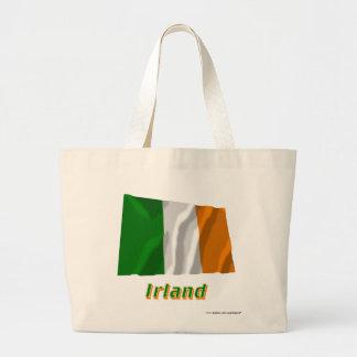 Irland Fliegende Flagge mit Namen Kassar
