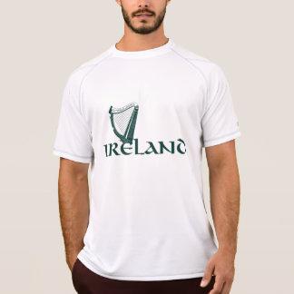 Irland harpadesign, irländsk harpa t shirts