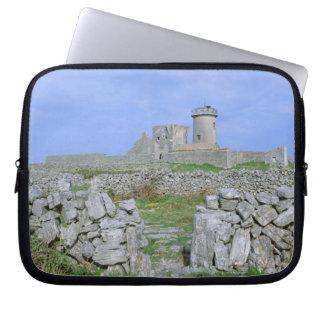 Irland Inishmore, Aran ö, DunAengus fort Laptop Fodral