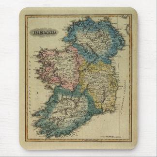 Irland karta 1823 av Lucas som sätter in Jr Musmatta