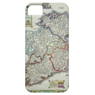 Irland karta - irländsk Eire Erin historisk karta iPhone 5 Case-Mate Skydd