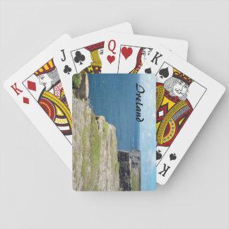 Irland---Klippor av Inishmore Spel Kort