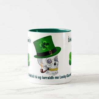 Irland saint patrick Två-Tonad mugg