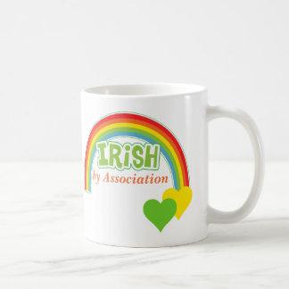Irländare av anslutningen kaffemugg