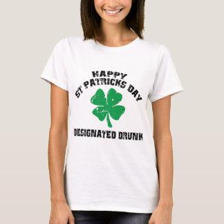 Irländare designerad drucken T-tröja Tee Shirt