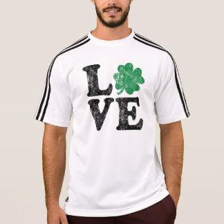 Irländare för st patrick's dayKÄRLEKShamrock T-shirt