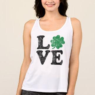 Irländare för st patrick's dayKÄRLEKShamrock Tee Shirt