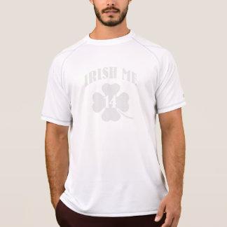 irländare mig, lyckligt mig shamrock 2014 tröja
