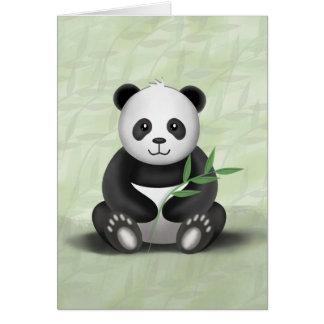 Irländare pandaen - hälsningkort hälsningskort