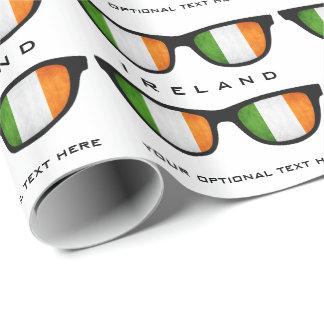 Irländare skuggar den beställnings- text- & presentpapper