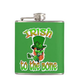 Irländare till benflaskan fickplunta