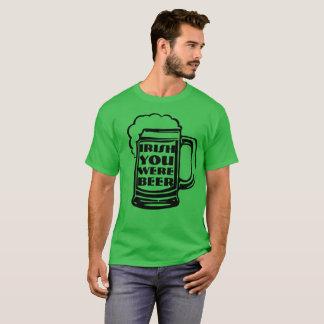 Irländare var du öl tshirts