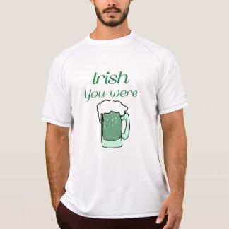 Irländare var du ölskjortan t shirt