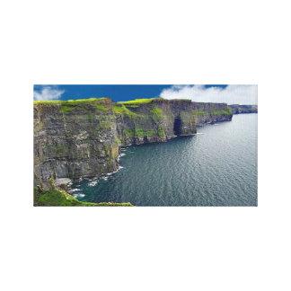 Irländarebilder för slågen in kanfas canvastryck