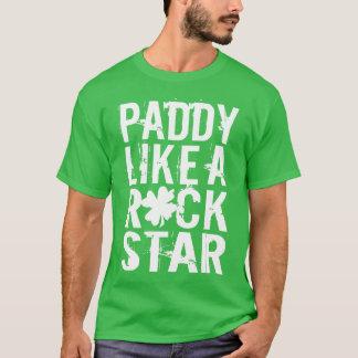 Irländarenågot liknande en rockstjärna tshirts