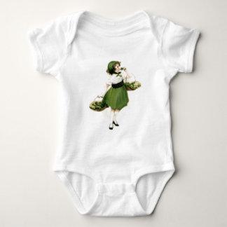 Irländsk brudtärnaShamrockgrönt T-shirt