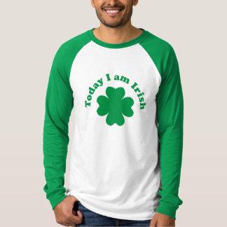 Irländsk dagskjorta t shirt