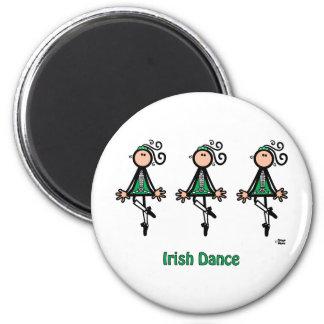 Irländsk dans magnet rund 5.7 cm