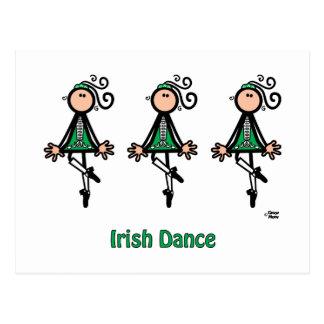 Irländsk dans vykort
