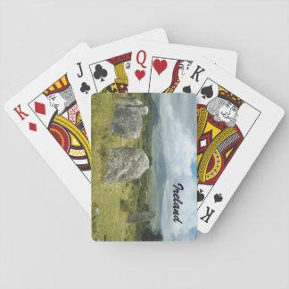 Irländsk domarring, ståndsmässig kork casinokort