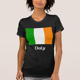 Irländsk flagga för Daly Tee Shirt