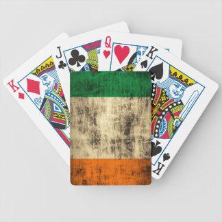 Irländsk flagga för Grunge Spelkort