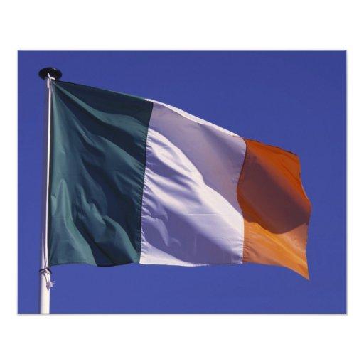Irländsk flagga konstfoto