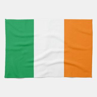 Irländsk flagga kökshandduk