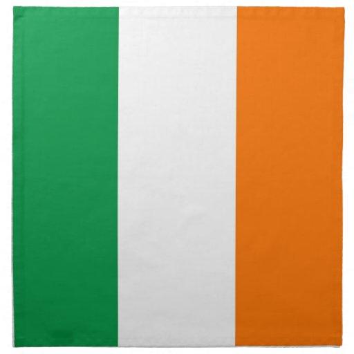 Irländsk flagga på den MoJo servetten Näsduk