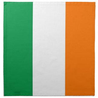 Irländsk flagga på den MoJo servetten Tygservett