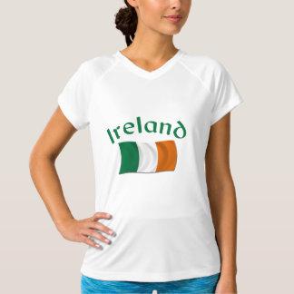Irländsk flagga tee shirt