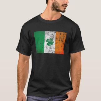 Irländsk flagga tee shirts