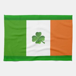 Irländsk flaggakökshandduk kökshandduk
