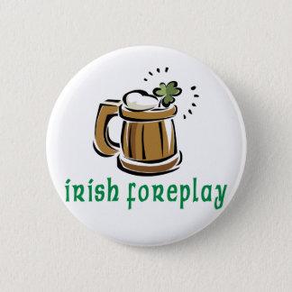 Irländsk förspelgåva standard knapp rund 5.7 cm