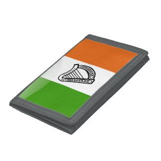 Irländsk glansig flagga
