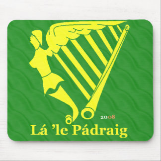 Irländsk harpa 2008 musmatta
