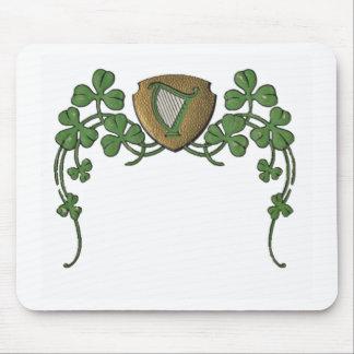 Irländsk harpa musmatta