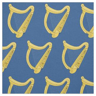 Irländsk harpa tyg