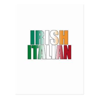 Irländsk italienare vykort