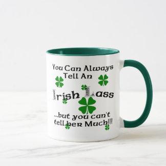 Irländsk jänta - du kan alltid berätta.
