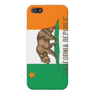 Irländsk Kalifornien flagga iPhone 5 Cover