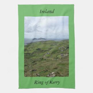 Irländsk kökshanddukring av Kerry Irland Kökshandduk